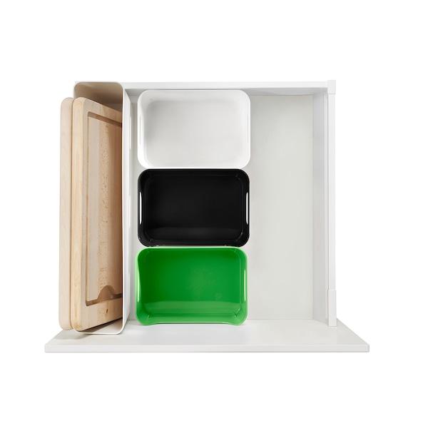 VARIERA box white 24 cm 17 cm 10.5 cm