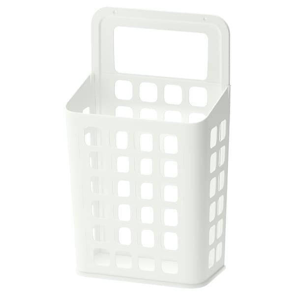VARIERA waste bin white 27 cm 16 cm 46 cm 10 l