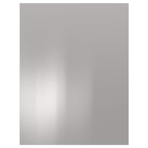 VÅRSTA cover panel stainless steel 61.5 cm 80.0 cm 1.4 cm
