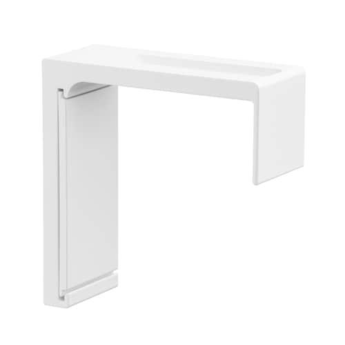 VIDGA wall fitting white 6 cm 10 kg