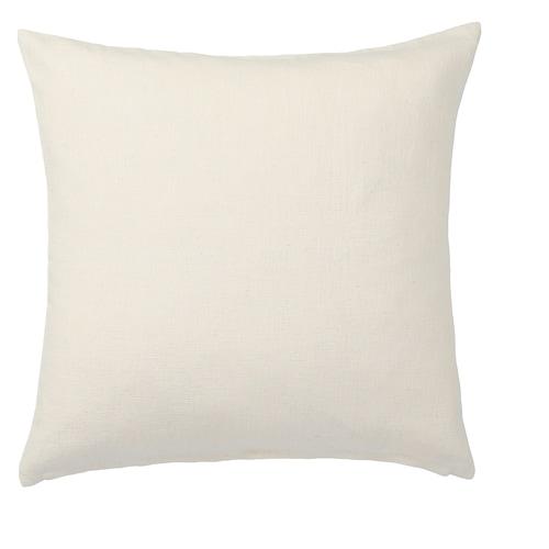VIGDIS cushion cover natural 50 cm 50 cm