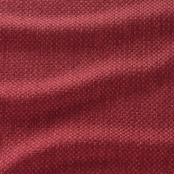 VIMLE 2-seat sofa-bed, Lejde red/brown