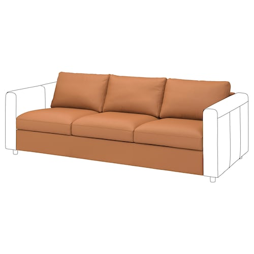 VIMLE 3-seat section Grann/Bomstad golden-brown 68 cm 211 cm 98 cm 83 cm 6 cm 211 cm 55 cm 48 cm 1 pack