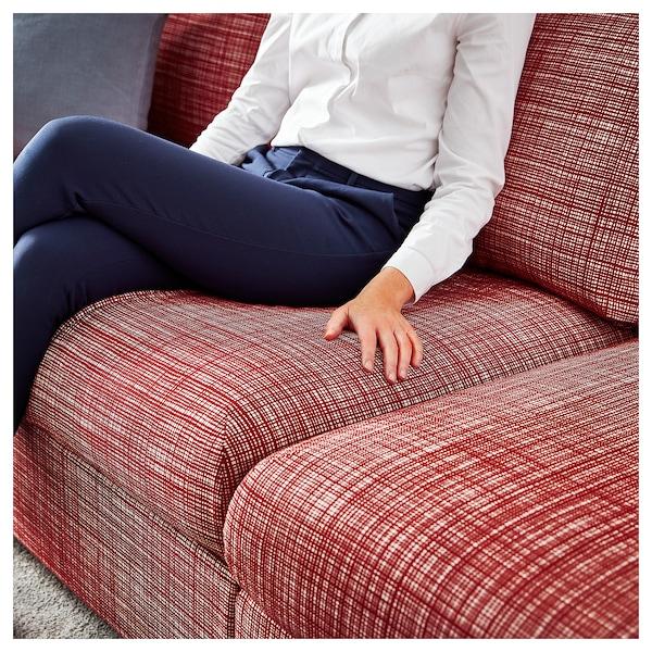 VIMLE 4-seat sofa, with chaise longue/Dalstorp multicolour
