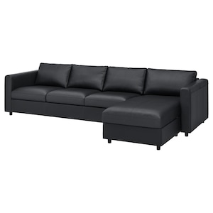 Cover: With chaise longue/grann/bomstad black.