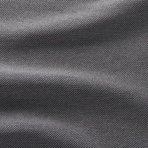 VIMLE Corner sofa-bed, 4-seat, with open end/Finnsta dark grey