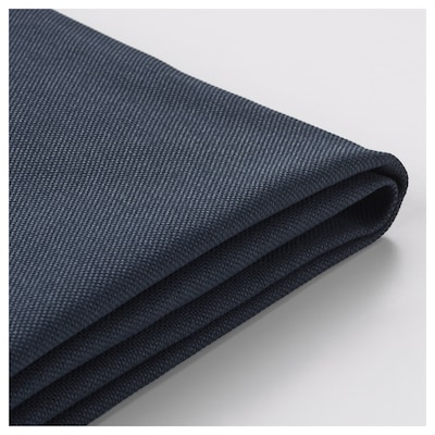 VIMLE Cover for 3-seat sofa-bed, with open end/Orrsta black-blue