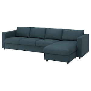 Cover: With chaise longue/hillared dark blue.