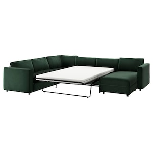 Cover: With chaise longue/djuparp dark green.