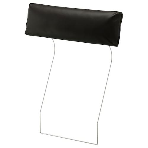 VIMLE headrest Farsta black 70 cm 13 cm 20 cm