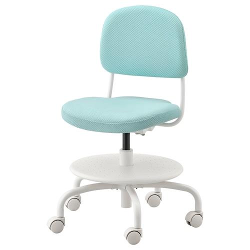 VIMUND children's desk chair light turquoise 110 kg 62 cm 59 cm 86 cm 41 cm 37 cm 38 cm 51 cm