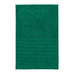 VINNFAR bath mat, dark green
