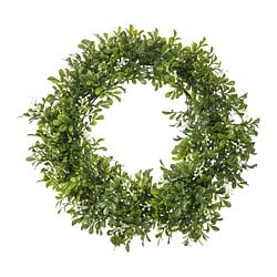 VINTERFEST artificial wreath, in/outdoor, Box