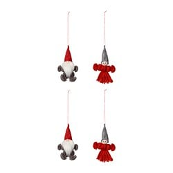 VINTERFEST hanging decoration, Santa Claus
