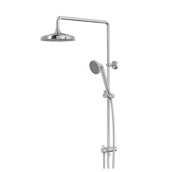 VOXNAN Head/handshower kit with diverter, chrome-plated
