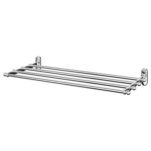 IKEA VOXNAN Wall shelf with towel rail