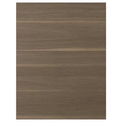 VOXTORP Cover panel, walnut effect, 62x80 cm