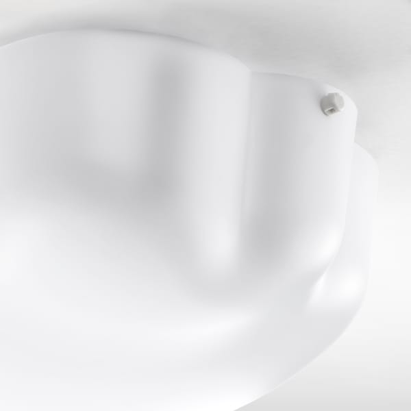 YLLESTA Ceiling lamp, white