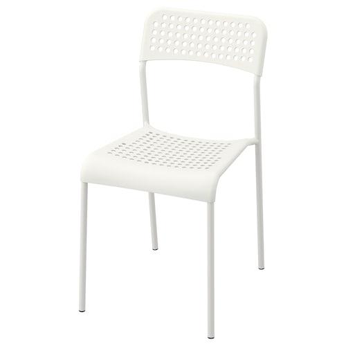 阿德 椅子, 白色