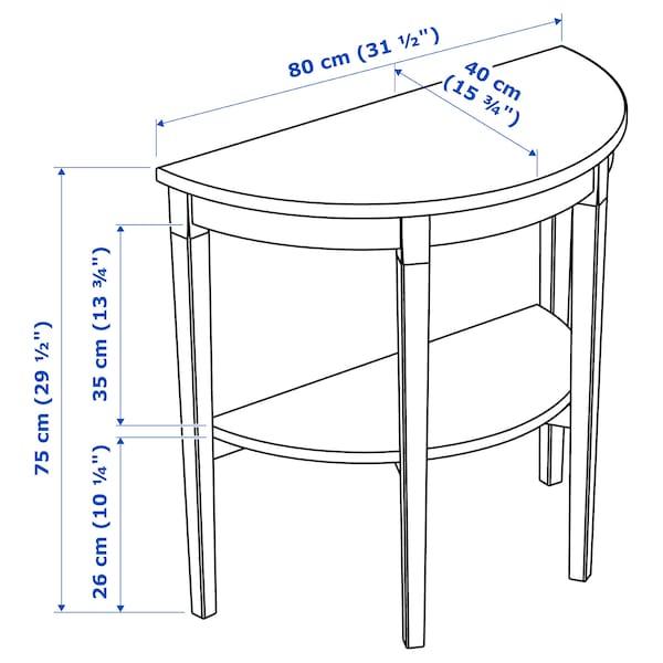 阿克斯多 临窗桌, 白色, 80x40x75 厘米