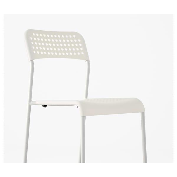 阿德 椅子 白色 110 公斤 39 厘米 47 厘米 77 厘米 39 厘米 34 厘米 45 厘米