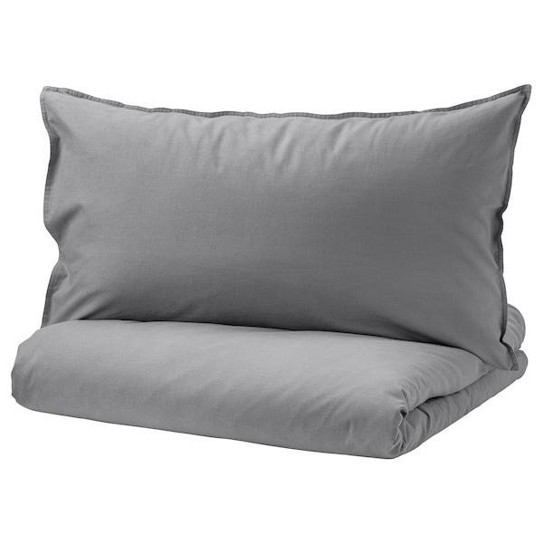 安斯莉娅 被套和枕套 灰色 125 Inch² 1 件 200 厘米 150 厘米 50 厘米 80 厘米