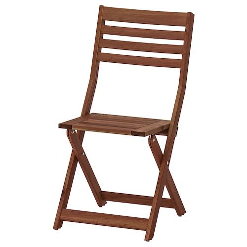 阿普莱诺 椅子,户外 可折叠 着褐色漆 110 公斤 42 厘米 56 厘米 86 厘米 38 厘米 37 厘米 44 厘米