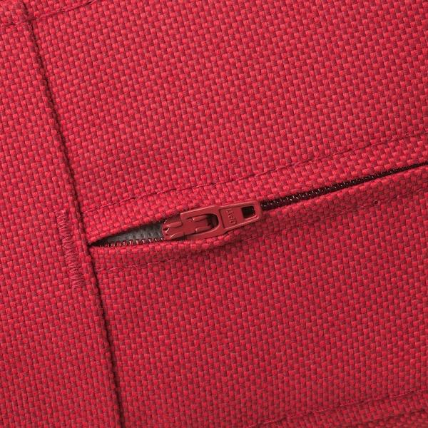 阿普莱诺 3人转角沙发,户外 着褐色漆/弗洛松/杜霍蒙 红色 80 厘米 84 厘米 223 厘米 143 厘米 49 厘米 40 厘米
