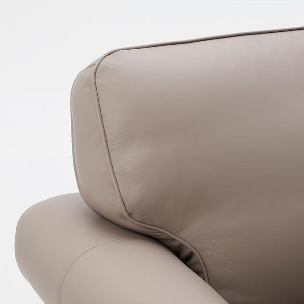 ÅKETORP 沃克托 三人沙发, 带贵妃椅/哥兰/邦斯塔 深米色