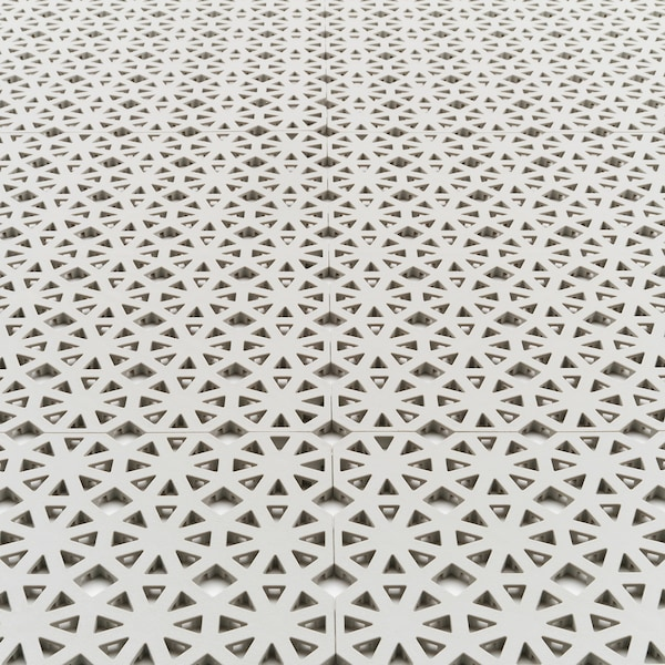 奥塔彭 地板饰面,户外 淡灰色 0.81 平方米 30 厘米 30 厘米 0.6 厘米 0.09 平方米 9 件