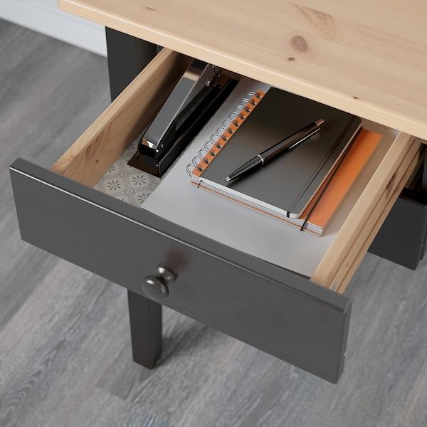 阿克斯多 书桌 黑色 140 厘米 70 厘米 74 厘米 69 厘米