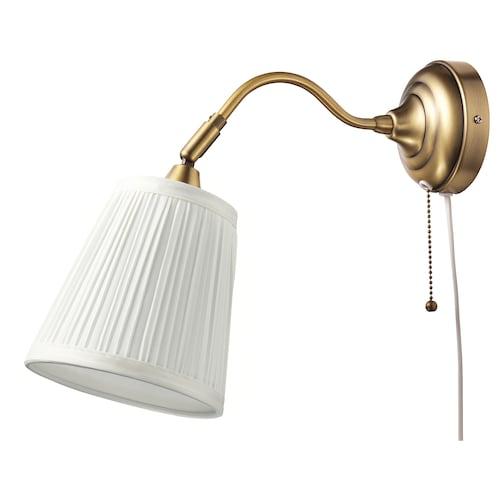 奥思迪 壁灯 黄铜/白色 40 瓦特 38 厘米 16 厘米 2.5 米