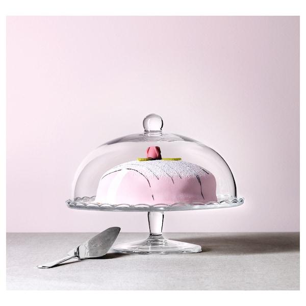 阿尔弗 布洛劳 带盖上菜架 透明玻璃 22 厘米 29 厘米