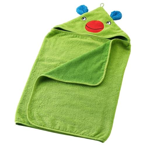 IKEA 巴斯利 带帽婴儿毛巾
