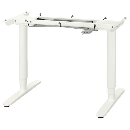贝肯特 桌面的底座/桌脚 白色 120 厘米 80 厘米 64 厘米 106 厘米 63 厘米 123 厘米 70 公斤