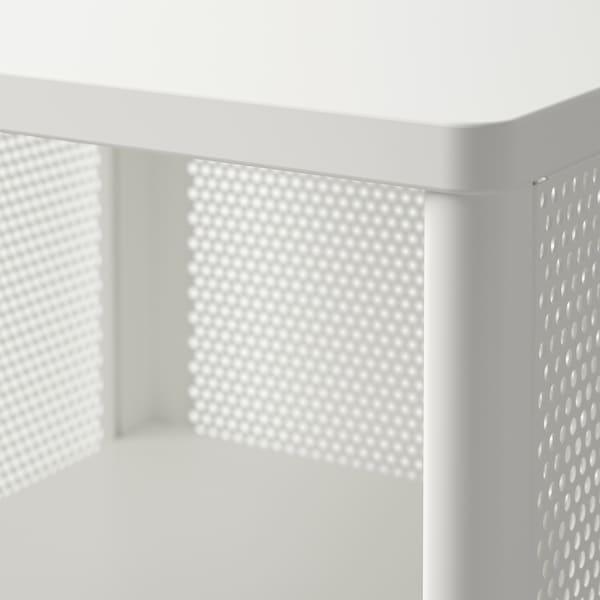 贝肯特 带支腿储物单元 丝网 白色 41 厘米 45 厘米 101 厘米
