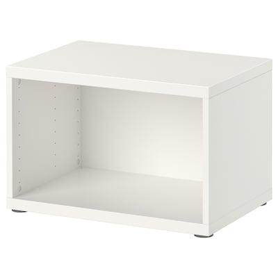 BESTÅ 贝达 框架, 白色, 60x40x38 厘米