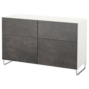 颜色: 白色 kallviken/sularp/深灰色 仿混凝土效果.