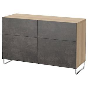 颜色: 仿白色橡木纹 kallviken/sularp/深灰色 仿混凝土效果.