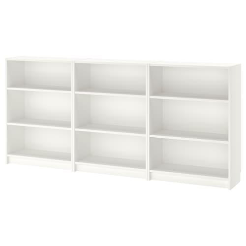 毕利 书架, 白色, 240x28x106 厘米