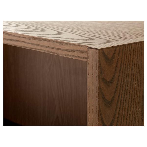 毕利 书架 褐色 白蜡木贴面 200 厘米 28 厘米 237 厘米 30 公斤