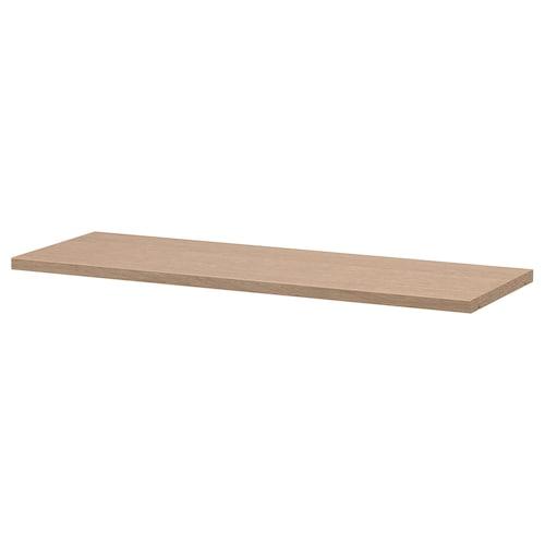 毕利 活动搁板 白色橡木贴面 76 厘米 26 厘米 2 厘米 30 公斤