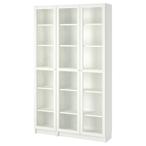 IKEA 毕利 / 奥克伯 玻璃门书柜