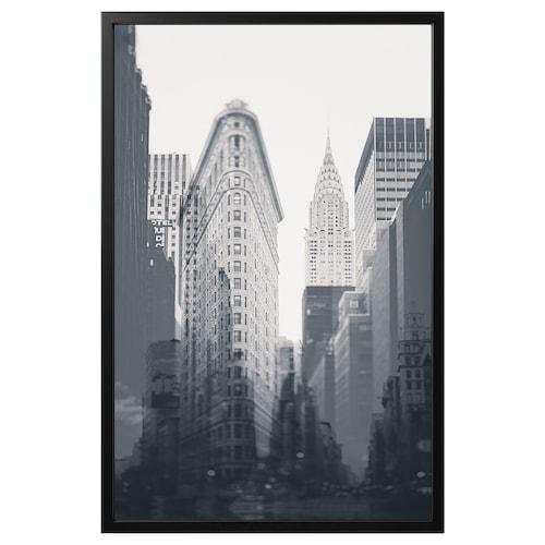 约纳斯塔 图片,带画框 纽约/黑色 118 厘米 78 厘米