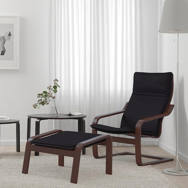 波昂 单人沙发/扶手椅, 褐色/基尼萨 黑色