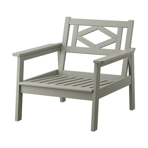邦德荷蒙 扶手椅,户外 灰色漆 77 厘米 81 厘米 73 厘米 62 厘米 62 厘米 30 厘米 110 公斤