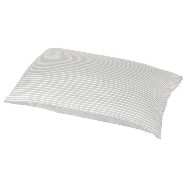 布兰利亚 枕套 灰色/条纹 1 件 50 厘米 80 厘米 1 件