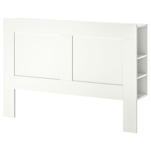 IKEA 百灵 床头板,带储物格