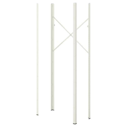 巴拉 杆 白色 4 厘米 190 厘米 4 件