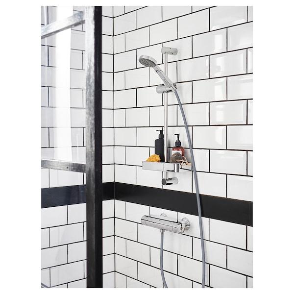 布鲁格隆德 淋浴收纳架, 镀铬, 25x4 厘米